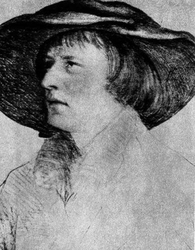 196. Ганс Гольбейн Младший, Мужчина в широкополой шляпе.