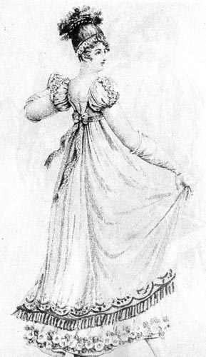 как самой украсить платье пуговицами