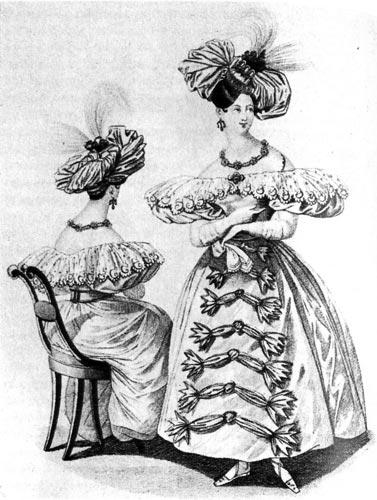 рисованые эскизы моделей одежды.