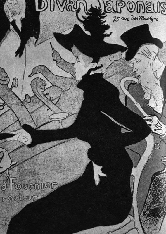 459. Анри Тулуз-Лотрек, Плакат для «Диван Жапонэ»,1892г