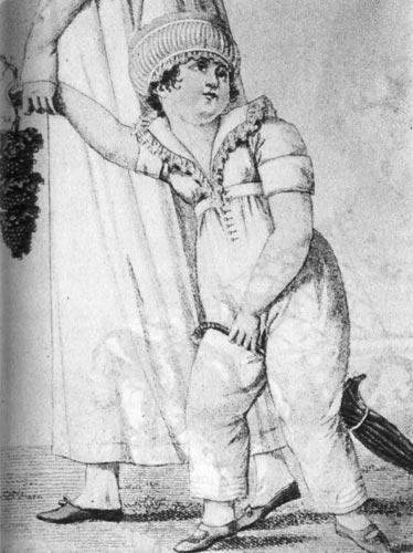 978 костюм паризьен costumes parisiens 1808 г